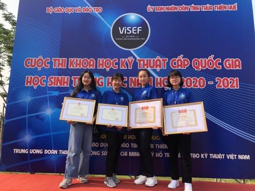 Bài viết của Sở Giáo dục và Đào tạo Lâm Đồng về cuộc thi KHKT cấp quốc gia năm học 2020-2021