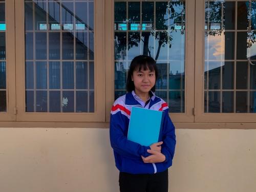 Cao Thị Kim Ái – Lớp 12 Chuyên Lý dành học bổng toàn phần Olympic Vật lý của Liên Bang Nga