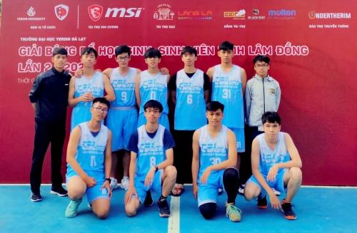 Câu lạc bộ bóng rổ tham gia giải Bóng rổ học sinh - sinh viên năm 2020 tỉnh Lâm Đồng