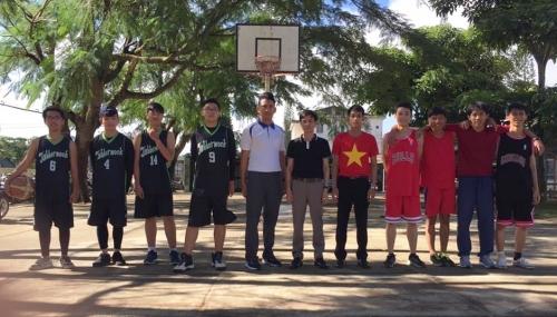 Câu lạc bóng rổ trường THPT Chuyên Bảo Lộc