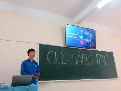 CLB sáng tạo tổ chức sinh hoạt tháng 10/2019