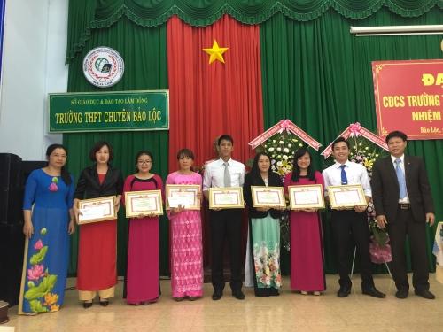 Đại hội CĐCS Trường THPT Chuyên Bảo Lộc lần thứ II,  nhiệm kỳ 2017 – 2022