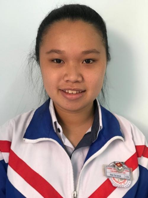 Đinh Thị Quỳnh – Lớp 12 Hóa Giải Khuyến khích Quốc gia - môn Địa lý Năm học 2018 - 2019