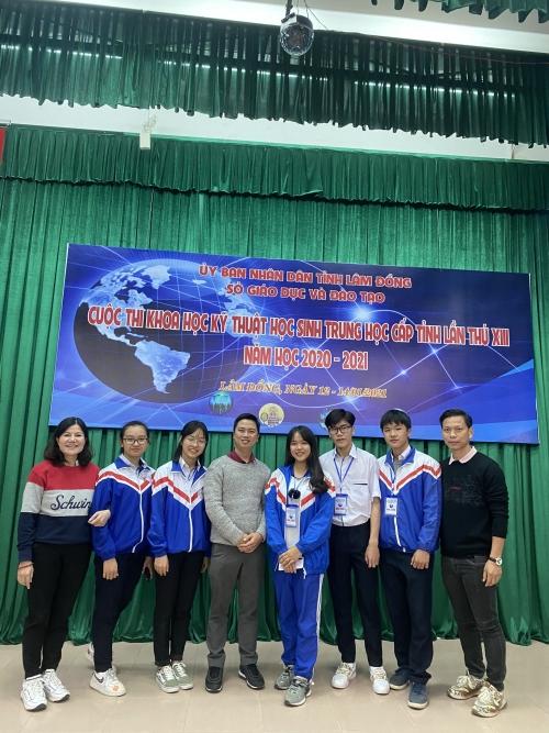 Kết quả cuộc thi Khoa học - Kỹ thuật học sinh trung học cấp tỉnh lần thứ XIII năm học 2020-2021