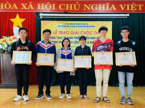 Kết quả Cuộc thi sáng tạo thanh thiếu niên, nhi đồng thành phố Bảo Lộc lần thứ 2 năm 2020
