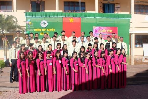 Lễ kỉ niệm 33 năm Ngày Nhà giáo Việt Nam (20/11/1982 - 20/11/2015)
