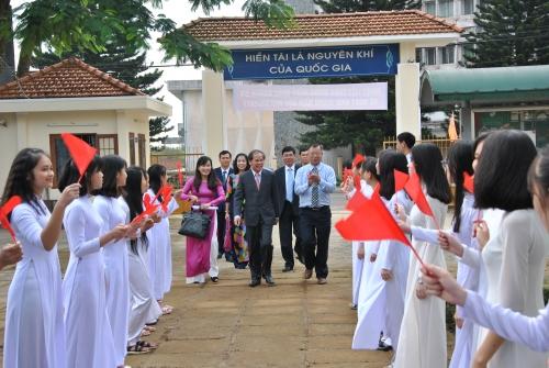 Một số hình ảnh trong lễ khai giảng năm học 2017-2018
