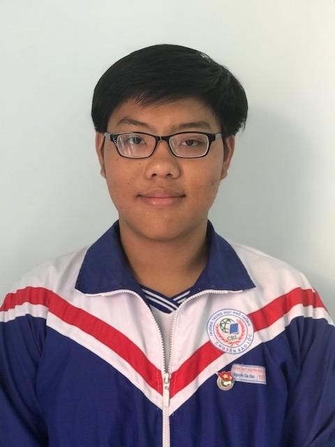 Nguyễn Gia Hào – Lớp 11 Toán Giải 3 Srobot lần thứ VII Tp. Hồ Chí Minh Năm học 2018 – 2019
