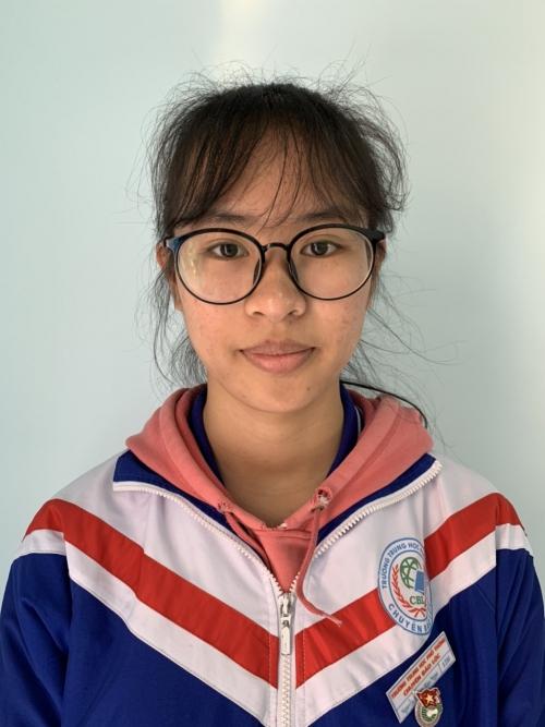 Nguyễn Hoàng Bảo Ngọc - Giải ba môn Địa quốc gia năm học 2019-2020