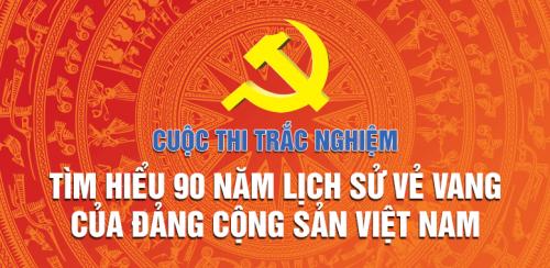 Thể lệ cuộc thi 90 năm lịch sử Đảng
