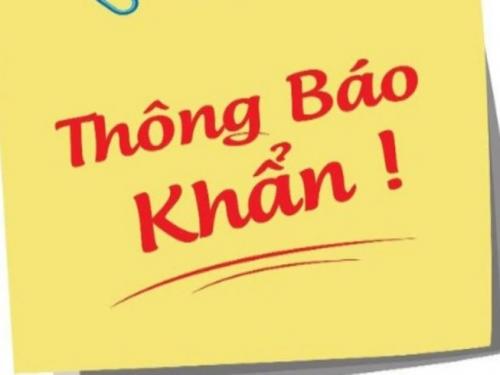 Thông báo khẩn: Học sinh tỉnh Lâm Đồng nghỉ học từ ngày 03/02/2021