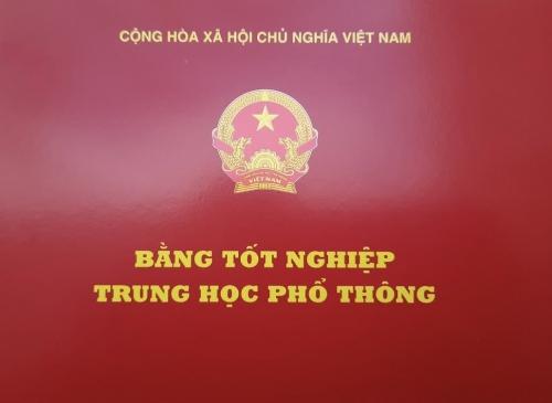 Thông báo nhận bằng tốt nghiệp THPT năm 2020