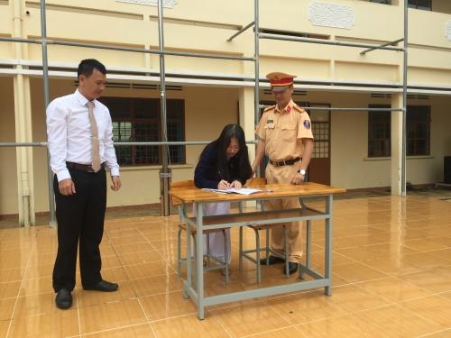 Tổ chức tuyên truyền An toàn giao thông cho học sinh