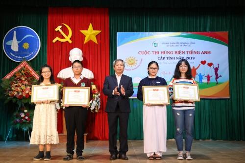 Tổng kết và trao giải Cuộc thi Hùng biện tiếng Anh cấp tỉnh năm 2019