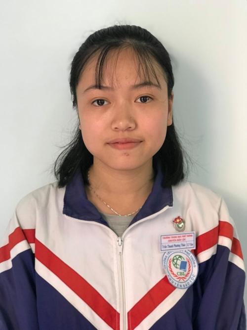 Trần Thanh Phương Thảo – Lớp 12 Văn Giải Nhì Quốc gia  - môn Ngữ văn Năm học 2018 – 2019