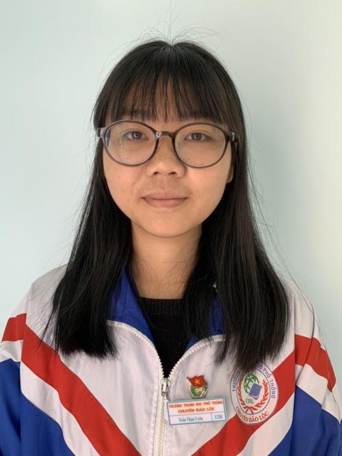 Trần Thảo Uyên - Giải ba quốc gia môn Địa năm học 2019-2020