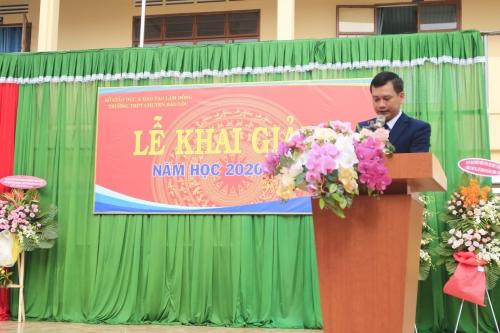 Trường THPT Chuyên Bảo Lộc tổ chức Lễ khai giảng năm học 2020 – 2021