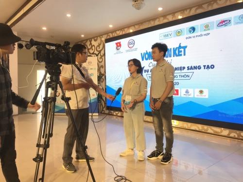 """Vòng Bán kết cuộc thi """"Dự án khởi nghiệp sáng tạo thanh niên nông thôn năm 2020"""" khu vực miền Trung"""