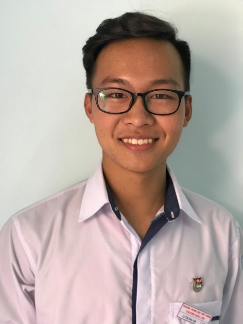 Đỗ Minh Chiến – Lớp 12 Toán Giải 3 Quốc gia - môn Sinh học Năm học 2018 - 2019