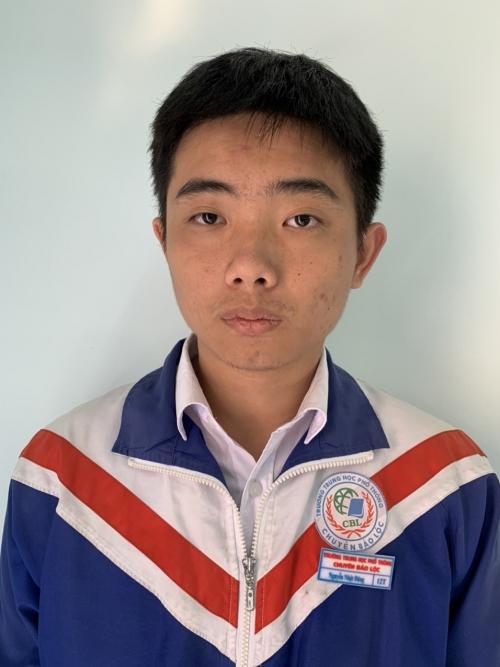 Nguyễn Nhật Đăng - Giải khuyến khích môn tin học năm học 2019-2020