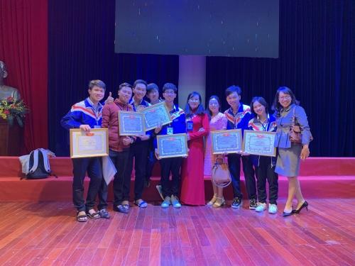 Tổng kết cuộc thi Khoa học kỹ thuật học sinh trung học cấp tỉnh lần thứ XII năm học 2019-2020